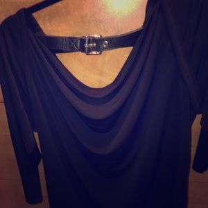 Michael Kors blouse with belt detail